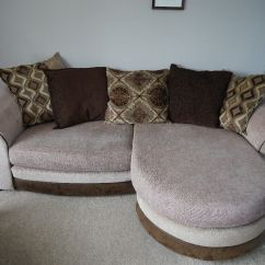 Revolving Chair Gumtree African Tribal Birthing Large Sofa With Leg Extension And Separate Rotating