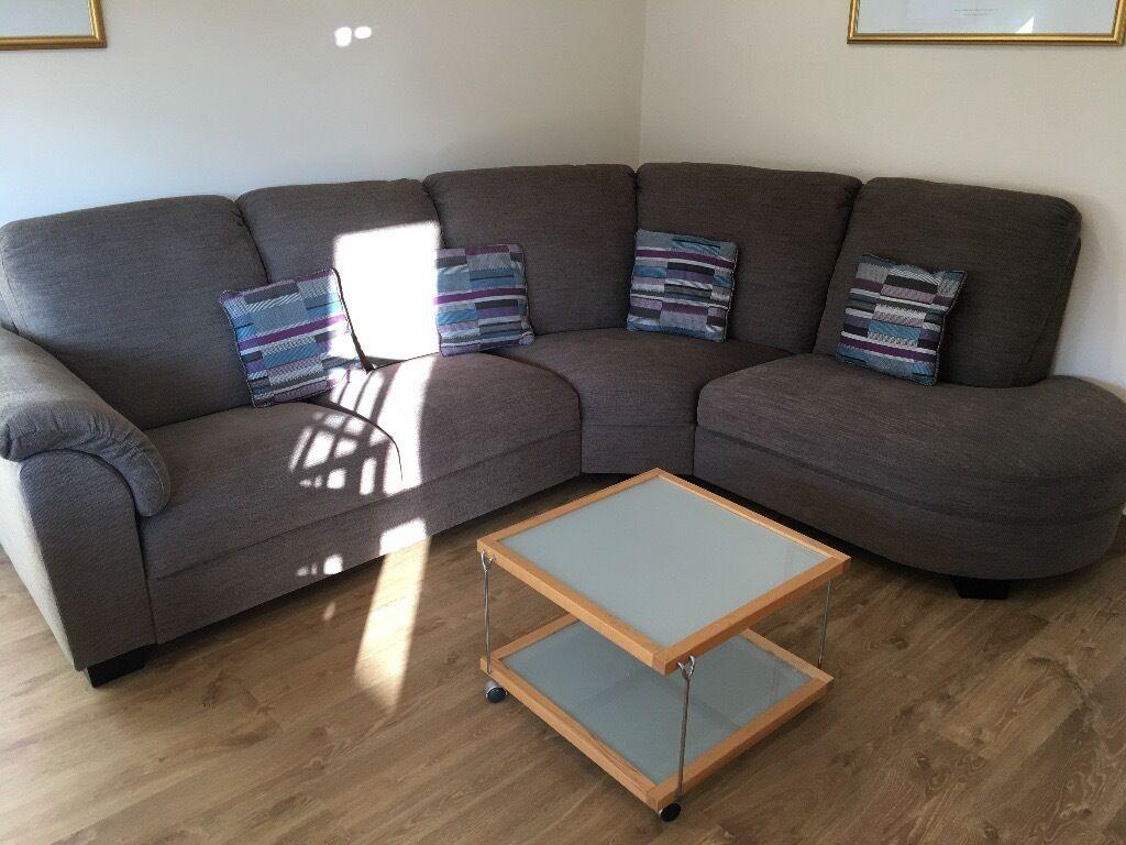 corner sofas glasgow gumtree emerald green velvet sofa uk ikea tidafors light brown flat clearance in