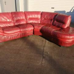 Corner Sofas Glasgow Gumtree Comprar Barato Red Leather Dfs Sofa Couch Suite Delivery In Southside