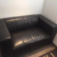 2 Seater Brown Sofa Large Fabric Corner Bed Leather In Portsmouth Hampshire