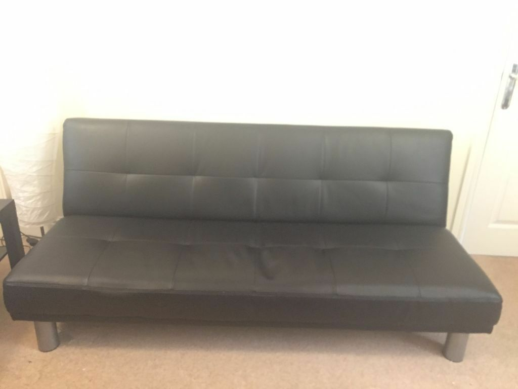 argos marwell clic clac sofa bed index 3990 jo black in thrapston