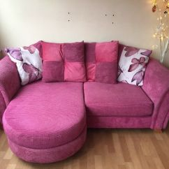 How To Wash Dfs Sofa Cushions Dillards Sleeper Sofas Pink Chaise End Excellent Condition Seat Covers
