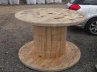 Large Strong Wooden Cable Reels/Garden Tables/Shop ...