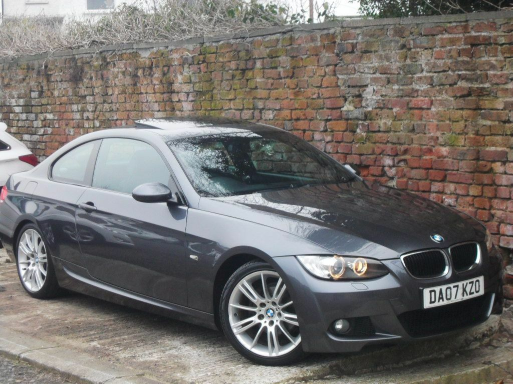 2007 bmw 320i m sport coupe 2 owners fsh xenons sunroof
