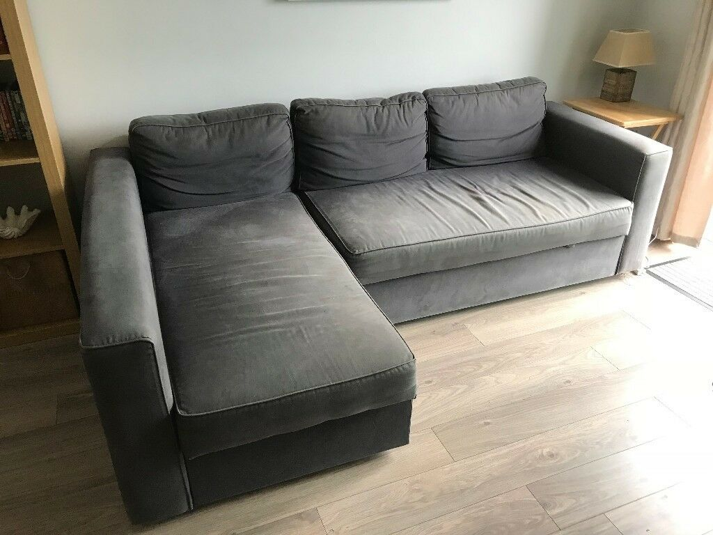manstad sofa bed mario bellini leather ikea with storage not available until third week of september