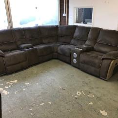 Leather Corner Sofa With Electric Recliner Vancouver 3 And 2 Seater Harvey 39s Holden Suede Power 5 6