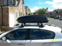 Halfords Black roof top box | in Burnley, Lancashire | Gumtree