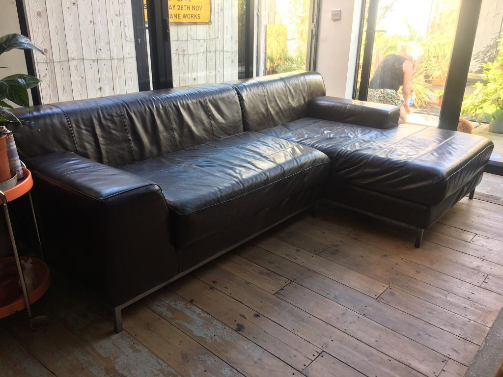 kramfors leather sofa repairs newport gwent ikea and chaise longue need gone asap