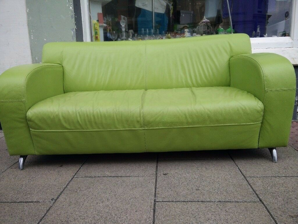 lime green chairs for sale best console gaming chair 2018 retro art deco napa leather sofa in brighton