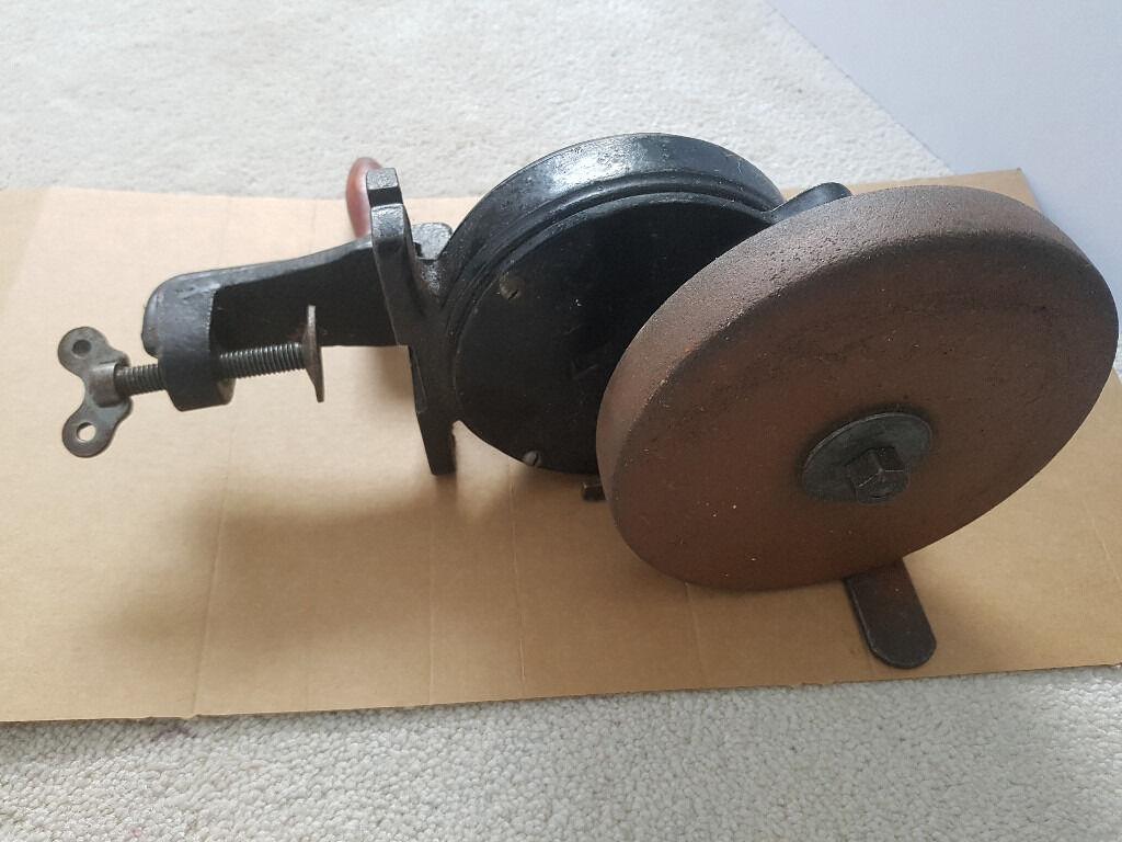 Hand Crank Grinding Wheel