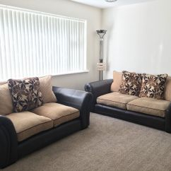 Leather Or Fabric Sofa For Dogs Beige Sofas Uk Dfs And In Garforth West Yorkshire