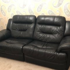 Dfs Recliner Sofa Bed Roche Bobois Mah Jong Preis Black Electric 3 Seater And Swivel Chair