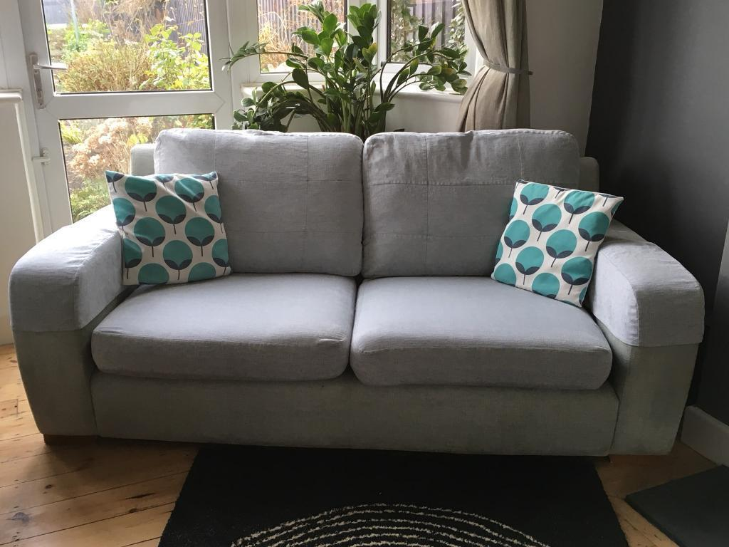 leather sofa arm caps uk harvest 3 seater duck egg blue modern washable cushions | in ...
