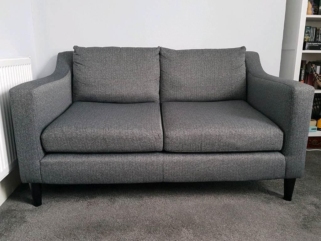 recliner sofa leather black wicker sofas indoor next jacob dark charcoal   in east croydon, london ...
