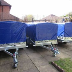 Wheelchair Trailer Lawn Chair Recliner Car Camping Box Mobility Scooter 750kg