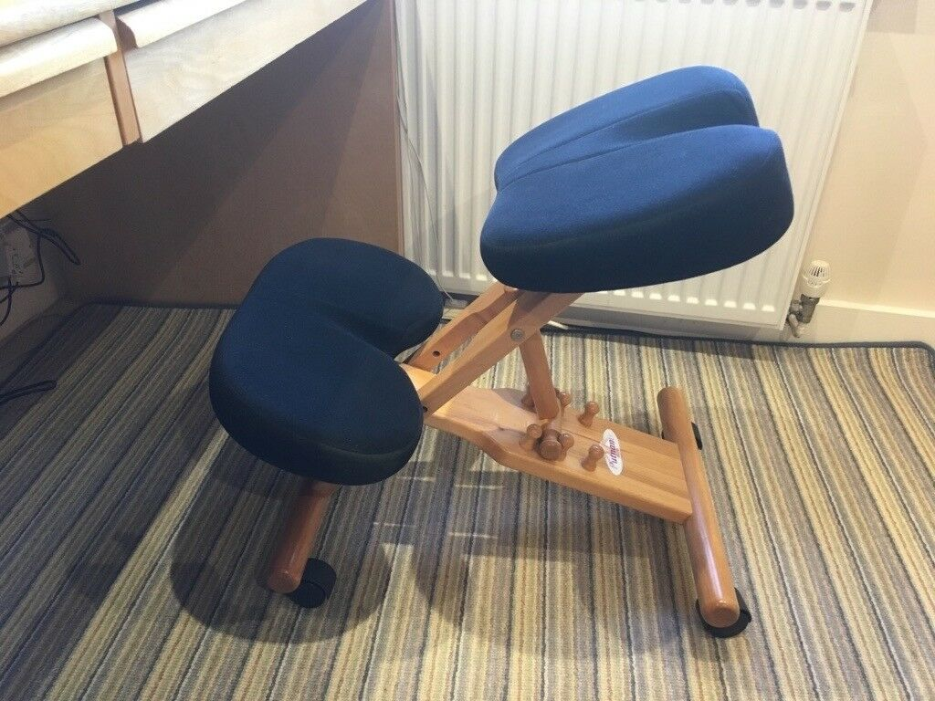 coccyx kneeling chair fx covers eu ergonomic with cut out in chesham