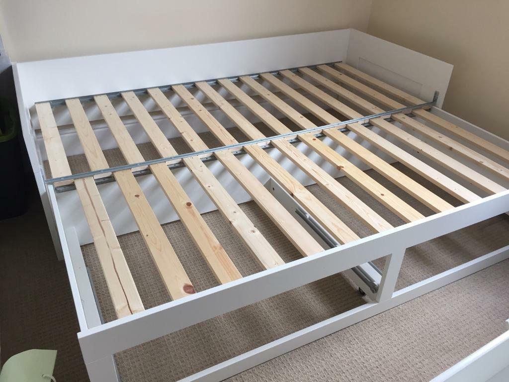 sofa london gumtree james by andover mills moving sale: ikea brimnes day bed (day-bed: converts from ...