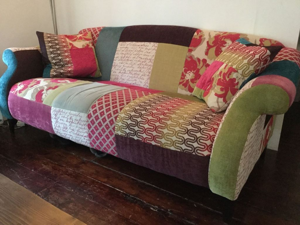 ikea sater sofa uk oz design furniture bed dfs shout patchwork and chair set in balham london