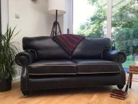 Lovely Chesterfield Club style Sofa/Settee Graphite Grey