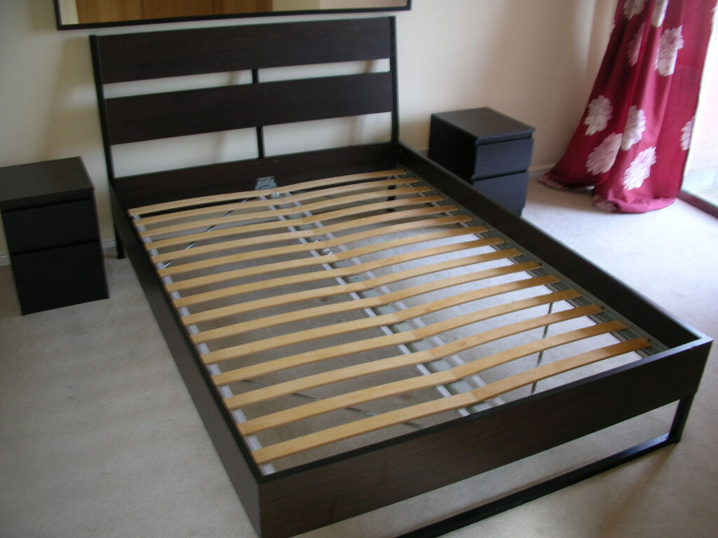 Trysil Standard Double Bed Wth Luroy Slatted Bed Base And