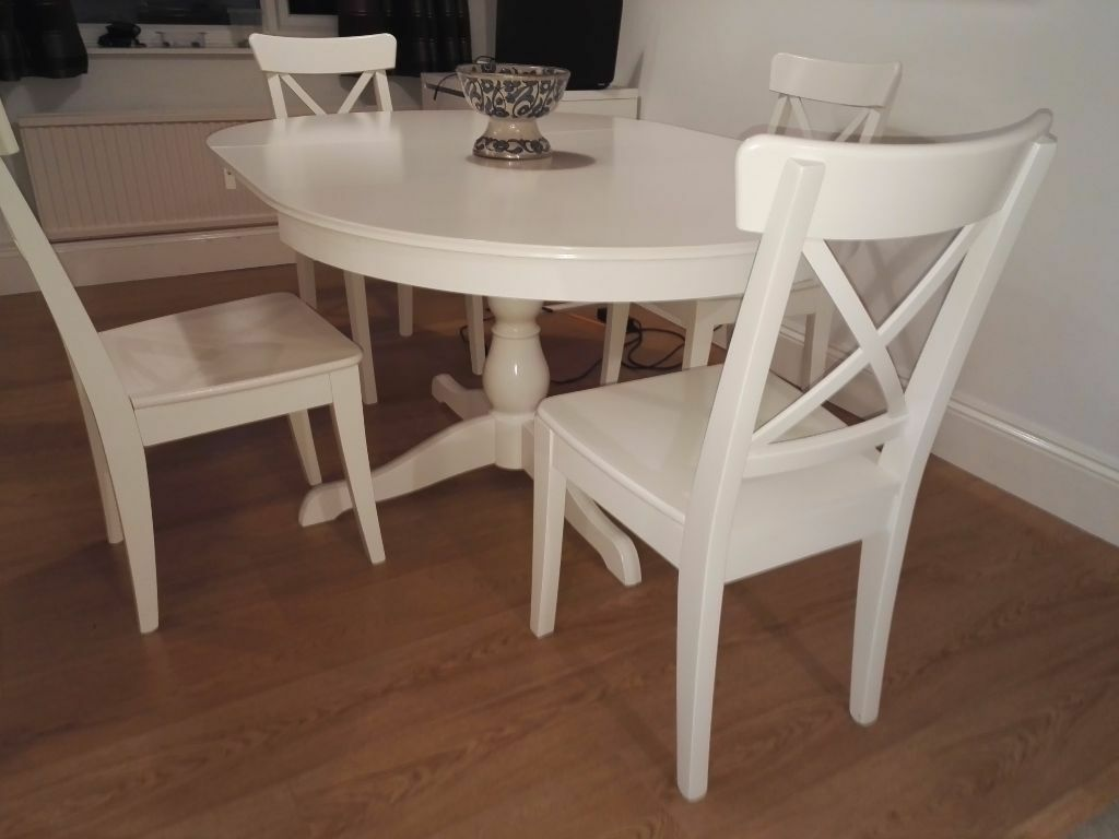ikea ingolf chair lion antique dining room set ingatorp table chairs