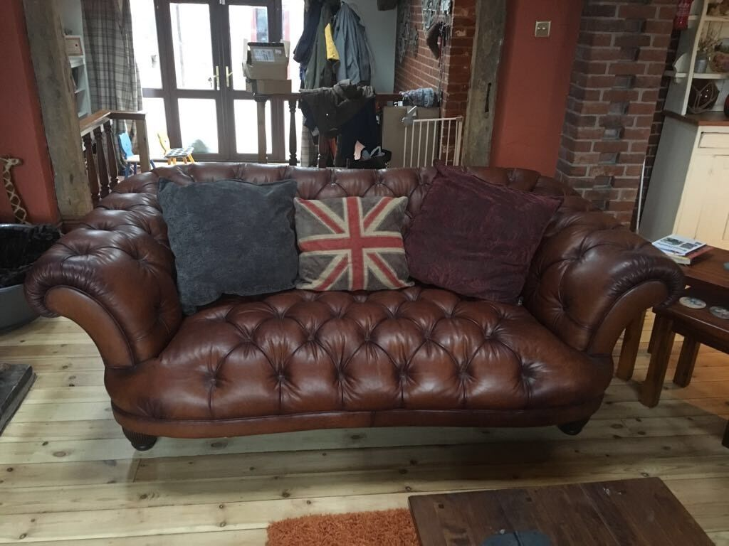 chesterfield sofa gumtree ni small e recliner dfs style in mattishall norfolk