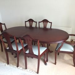 Table And 6 Chairs Chair Stand Up Assist Mcdonagh Mahogany Dining In Ballymena