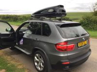 BMW x5 e70 with roof rack/roof box | in Eastfield, North ...