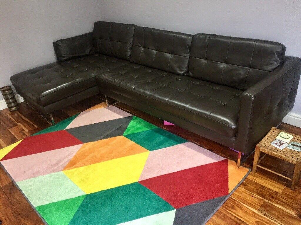 corner sofas glasgow gumtree art van sofa sets brown leather by dwell in lenzie