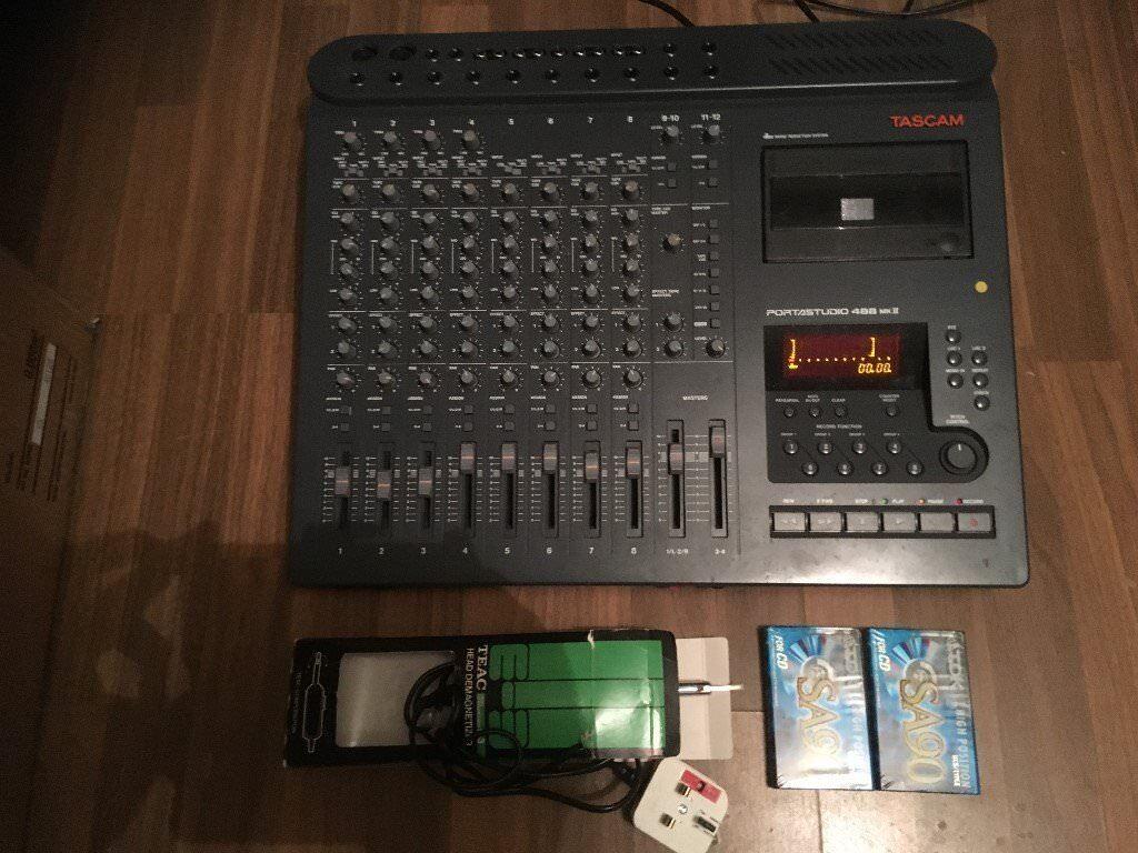 8 Track Tascam Portable Recording Studio