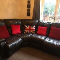 Real Leather Corner Sofas Uk Modern Pull Out Sleeper Sofa Genuine In Worcester Worcestershire