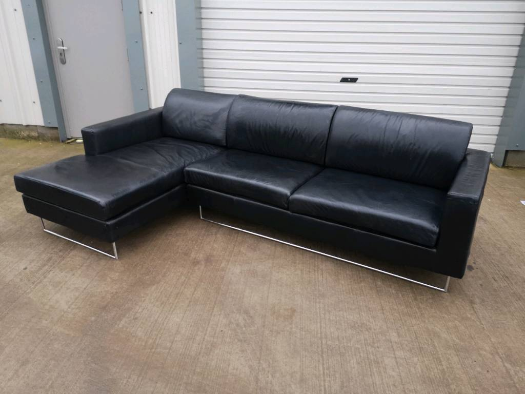corner sofas glasgow gumtree modern sofa table decor ideas black leather couch suite delivery in southside