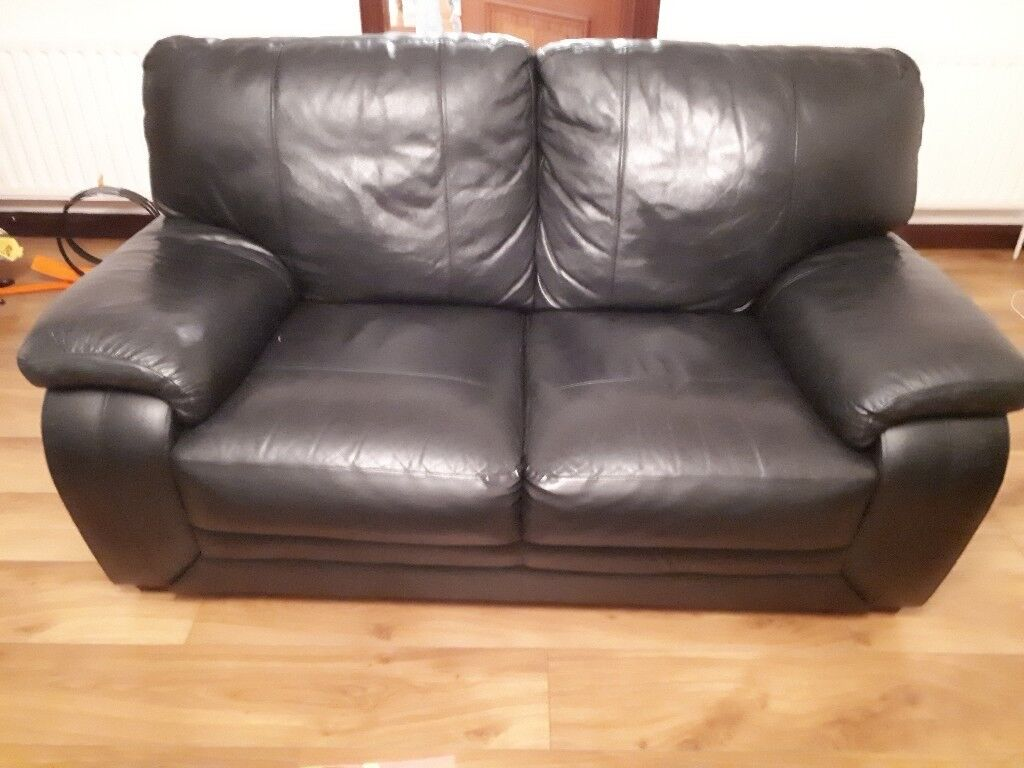 black leather sofas on gumtree seattle sofa 3 2 1 seater in dungannon county
