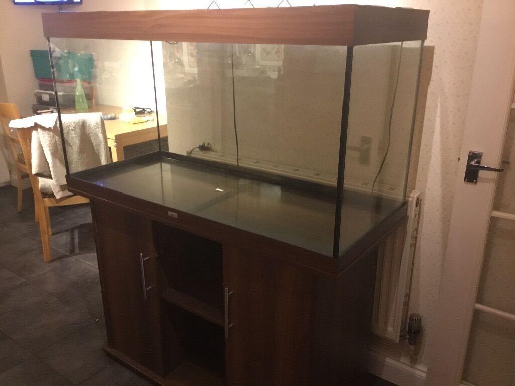 Juwel Rio 300 Dark Wood Aquarium Fish Tank