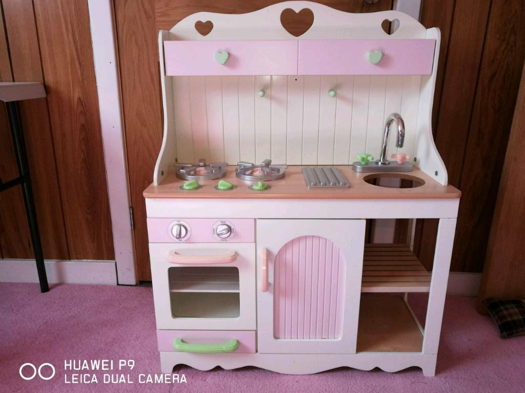 solid wood toy kitchen granite table play in stirling gumtree