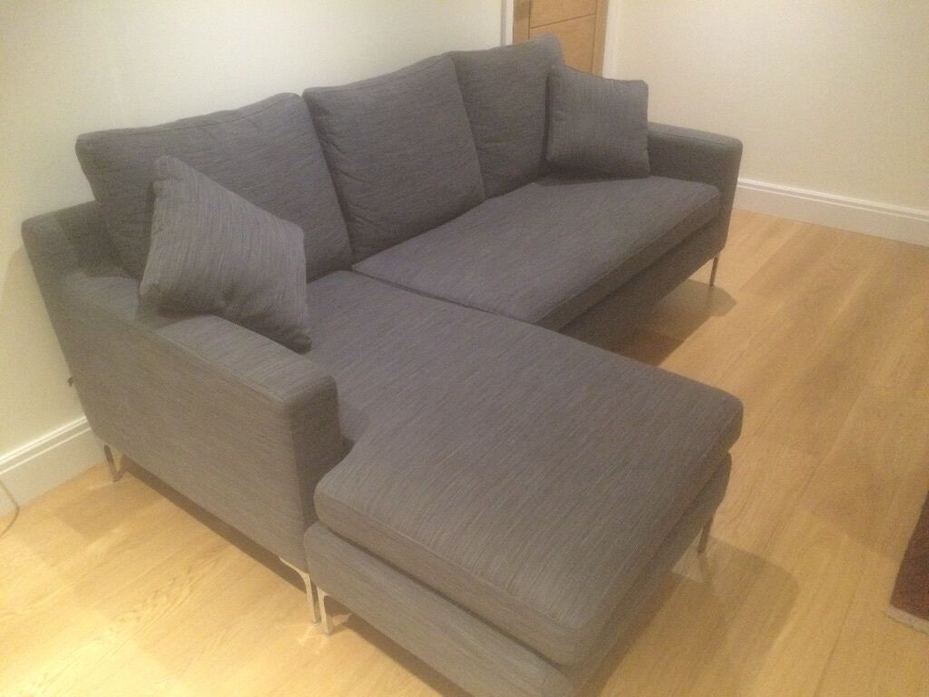 sofa london gumtree tribeca crate and barrel dwell 'oslo' reversible corner/chaise (grey) | in ...