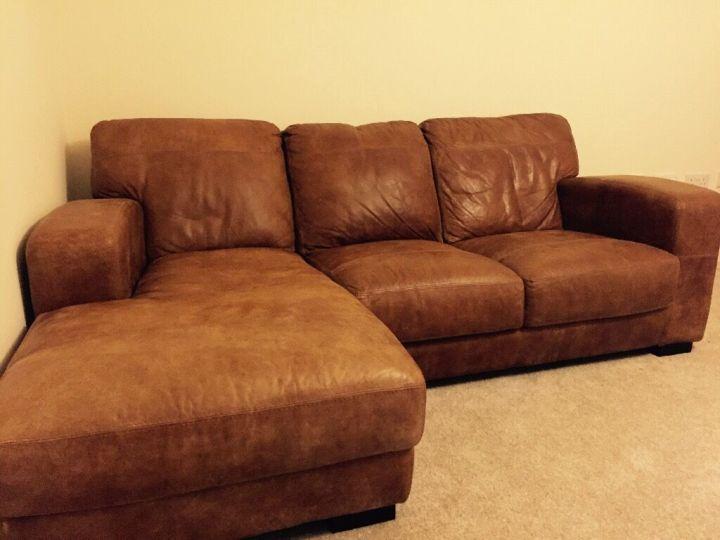 Dfs caesar sofa Dfs 4 seater leather sofa