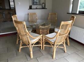 dining room chair covers dunelm desk leather six 6 linen in ely cambridgeshire gumtree table and chairs