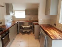 Used Wickes kitchen units with some appliances (oven, gas ...