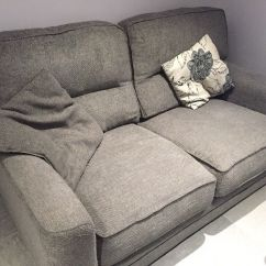 High Quality Fabric Sectional Sofa Restoration Hardware Tufted Scs 2 Seater With Memory Foam Filling And