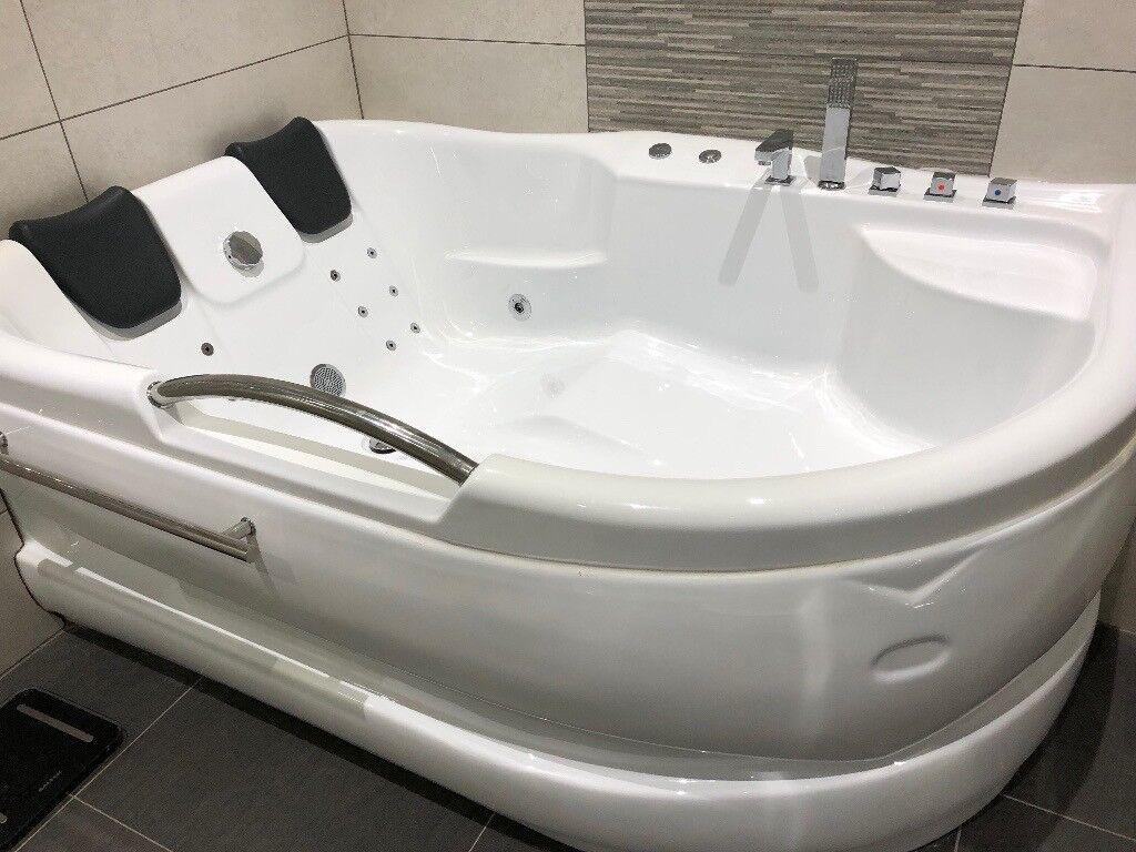 Double Corner Bathtub  Jacuzzi Whirlpool Bath  in Stanley County Durham  Gumtree