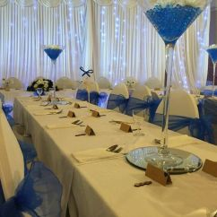 Wedding Chair Covers Pontypridd Sharper Image Massage Chairs Whole Event Package For Sale Candy Cart Sashes Centrepieces