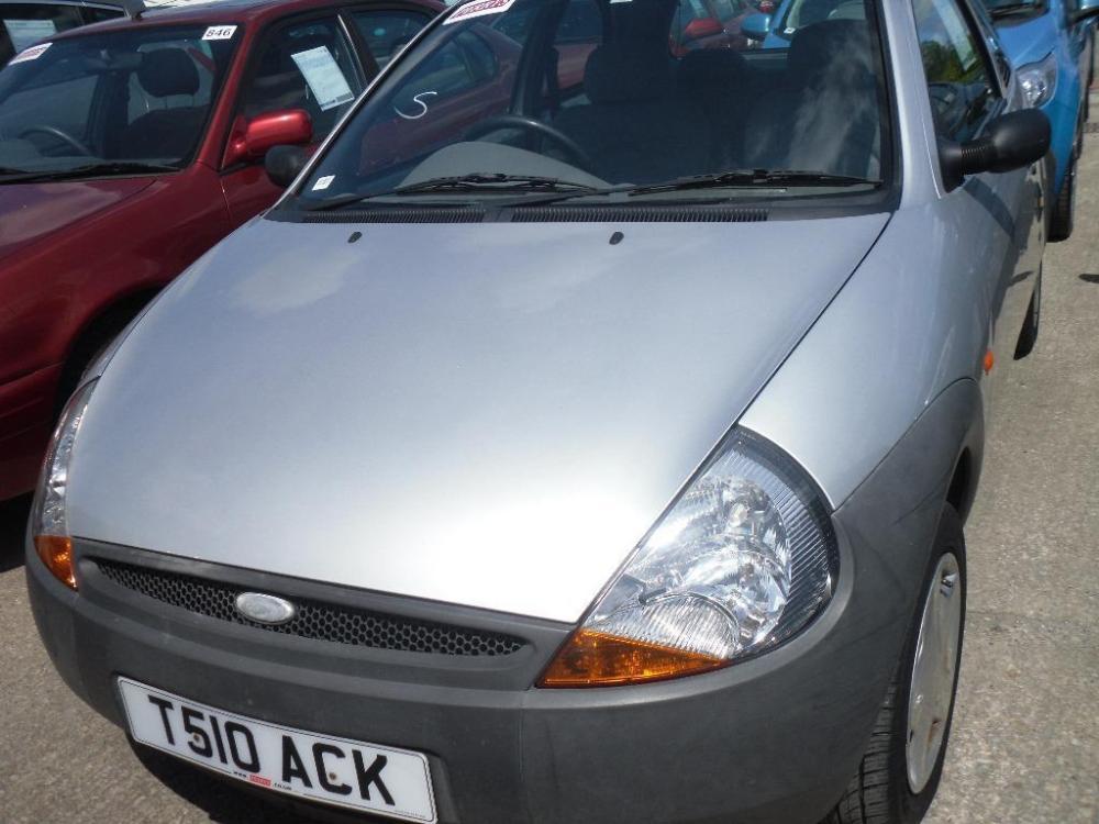 medium resolution of ford ka 2 t reg silver electric windows 11 months mot drives well