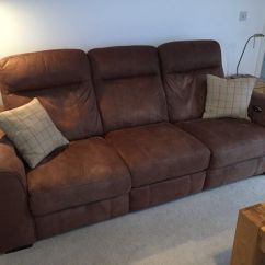 Paloma Sofa Sofology How Much Fabric Do You Need To Recover A Gorgeous Furniture Village 3 Seater With 2 Power Recliner Seats Original Rrp 1149 In Church Crookham Hampshire Gumtree