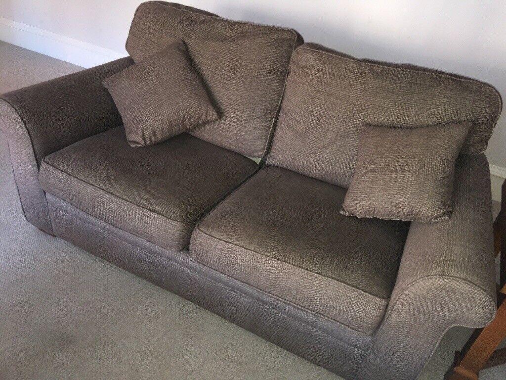 100 cm wide sofa bed light grey tufted in aberdeen gumtree
