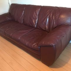 Red Leather Sofas And Chairs Palmeiras Sp U20 Corinthians Sofascore Dark Sofa 3 4 Seater In Cardiff Gumtree