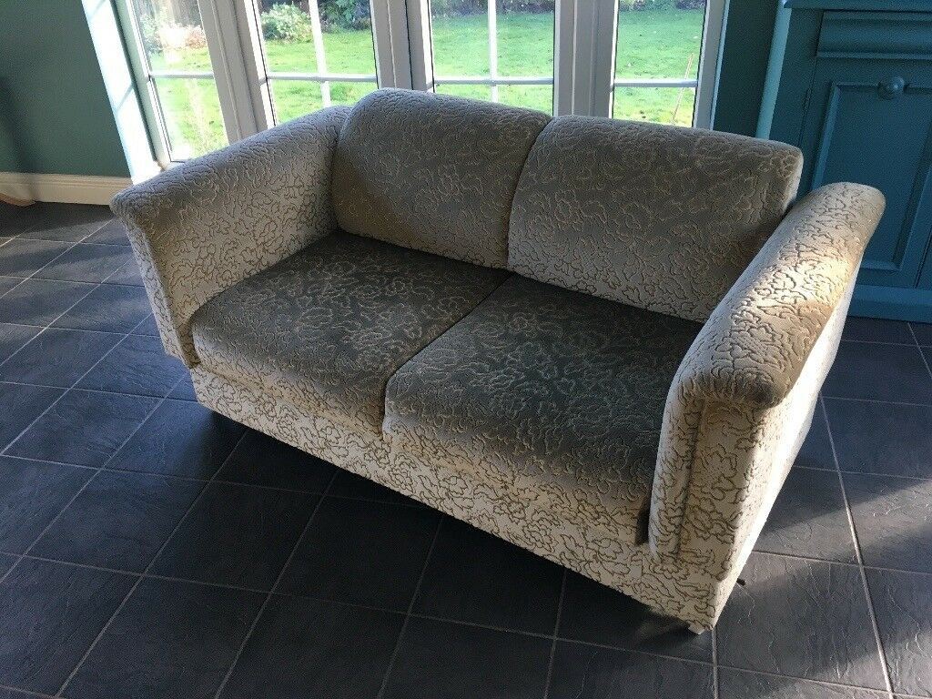 parker knoll sofa bed fold out mattress drop down day hardly used