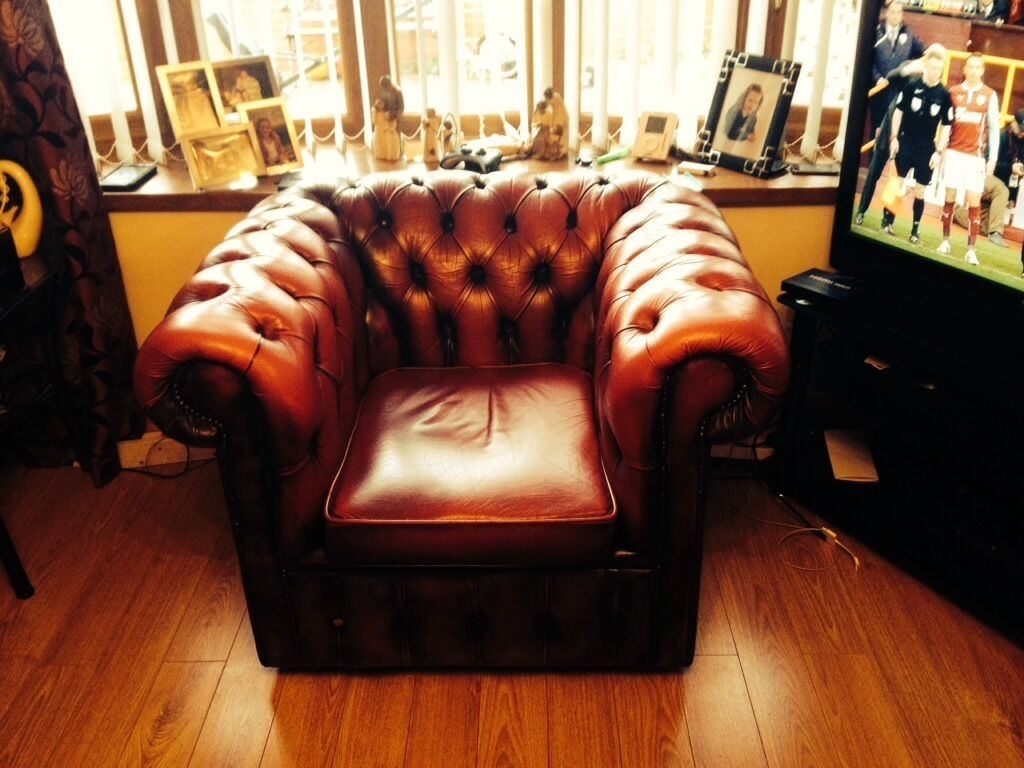 living room suites northern ireland rugs 8x10 3 piece leather chesterfield ox blood suite for quick sale ...
