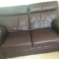 Cheap Brown Leather 2 Seater Sofa Cushions For Uk Contemporary In Taverham