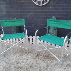 Green Fishing Chair Leg Extenders Lowes 2 Chairs Strong And It S In Excellent Condition 60 45 76 Cm 20